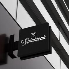 Corporate Identity design for Spinbreak studio in Bordeaux, France
