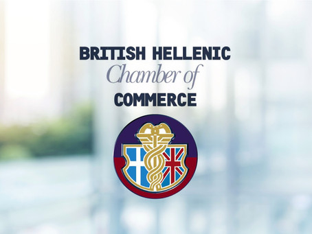 October 2018 - our firm becomes a member of the British Hellenic Chamber of Commerce