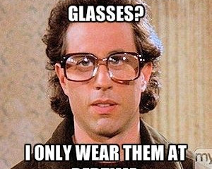 Reasons why you need a back up or second pair of glasses