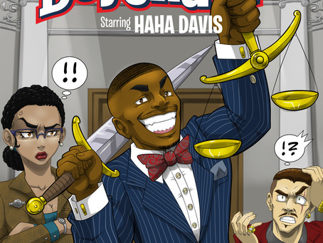 SOCIAL MEDIA STAR HAHA DAVIS,  PARTNERS WITH VERSE COMICS USA  TO RELEASE GRAPHIC NOVEL SERIES