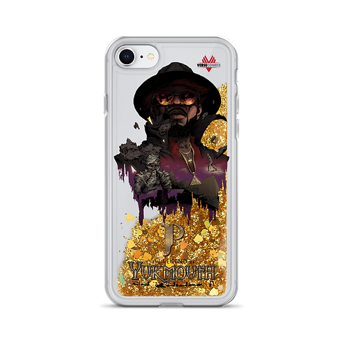 Liquid Glitter Legend of Yukmouth iPhone Case