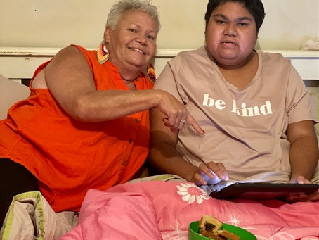 Strong Woman. Strong Voice. Aunty Sharon Slater activist for Indigenous peoples with disabilities