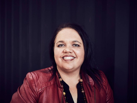 Marsha Uppill. A proud Adnyamathanha Woman on a mission to create change for young women & business
