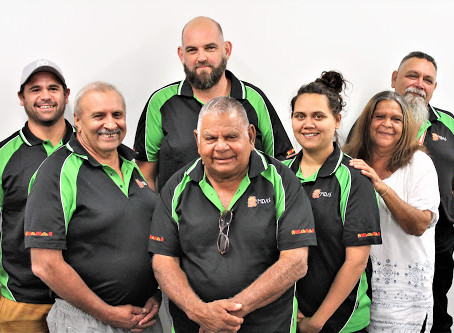 What Mallee District Aboriginal Services Men's service do to support the Fellas