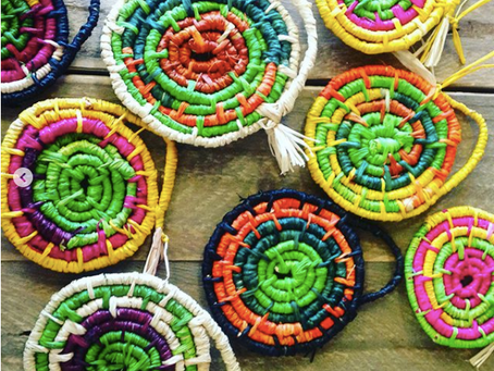 Wayapawarr. How an Ancient Weaving practice is supporting mob through uncertain times.