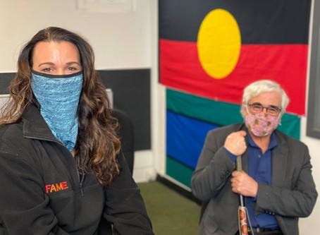 Meet Charles Pakana. A proud Aboriginal man raising awareness for mental health in community.