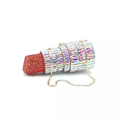 Lipstick Crystal Bag