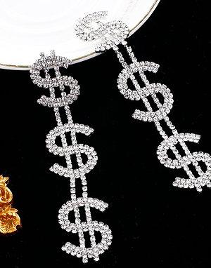 Money Chandelier Earrings