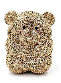 Teddy Crystal Handbag