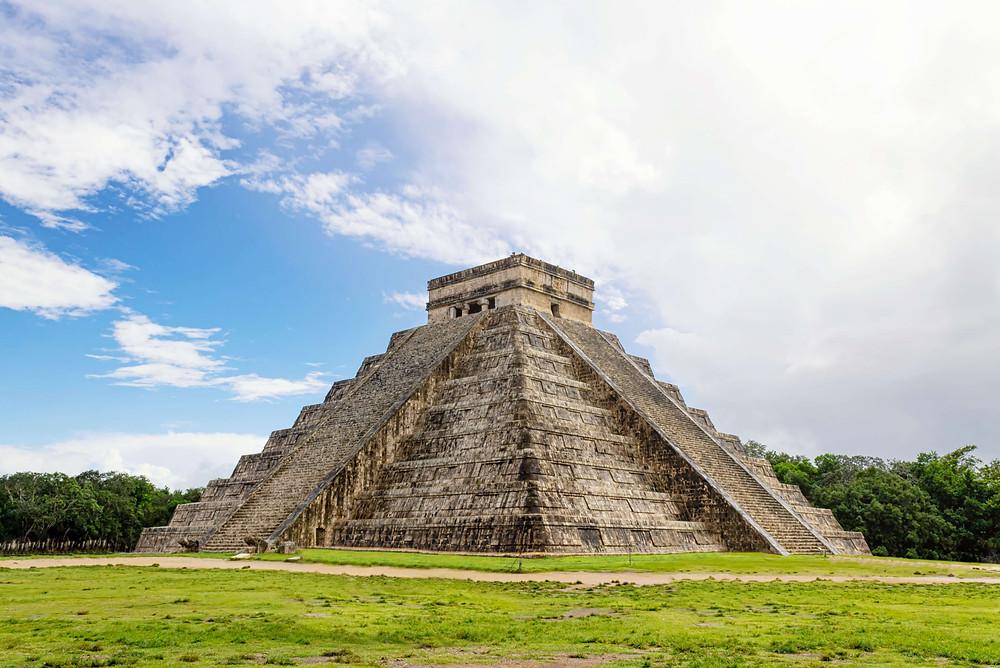 Mexico's Chichen Itza pyramid