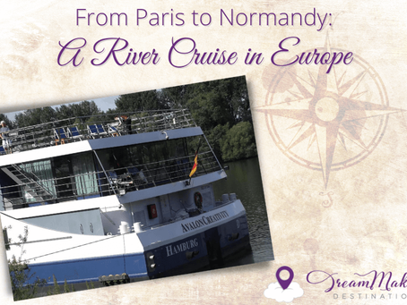From Paris to Normandy: A River Cruise in Europe