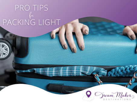 Pro Tips for Packing Light