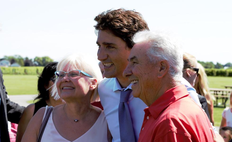 Justin Trudeau in NOTL