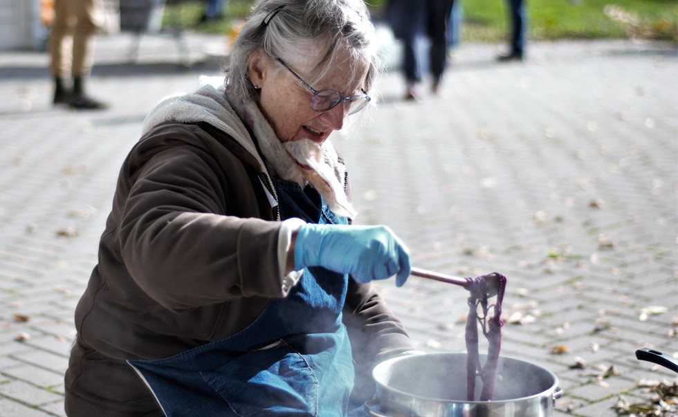 Dye Day at Laura Secord Homestead
