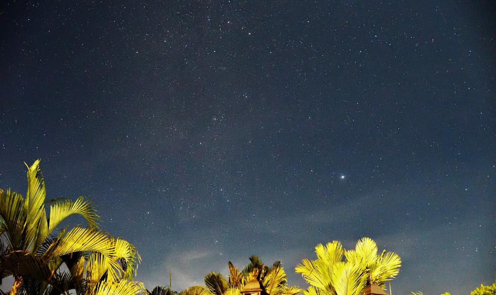 Costa Rica sky at night