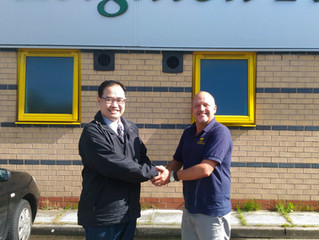 A visit from Mr Su of Ming Wei, Taiwan
