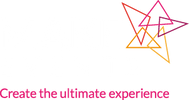 Make Events Logo - White on Clear