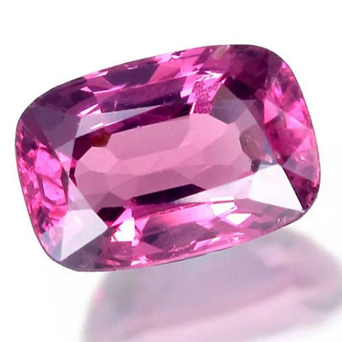 3.41 Ct Natural burma Spinel pink color