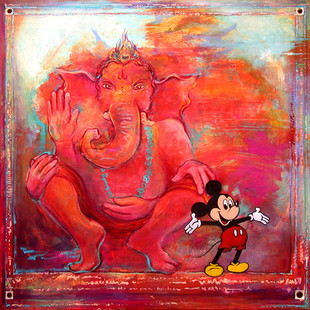 Ganesh taking the Mickey
