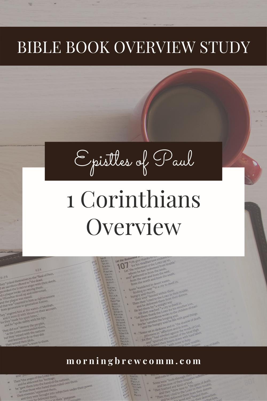 1 Corinthians Epistles of Paul Bible Book Overview