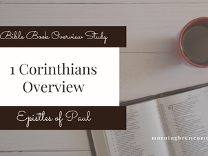1 Corinthians | Bible Book Overview