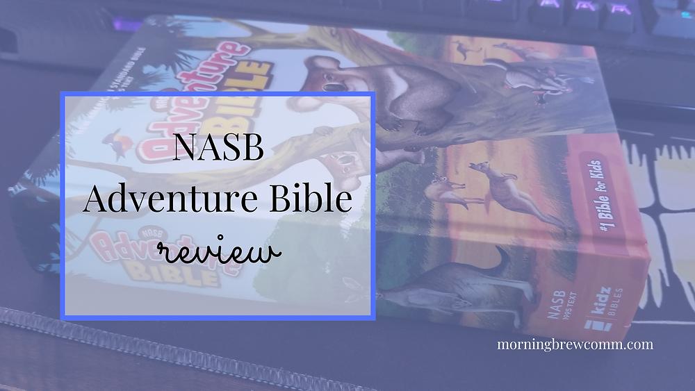 NASB Adventure Bible Review