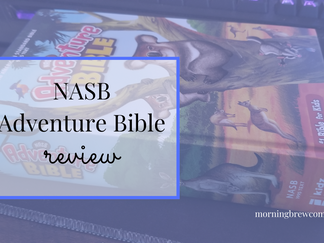 Is the NASB Adventure Bible a good Bible for kids?