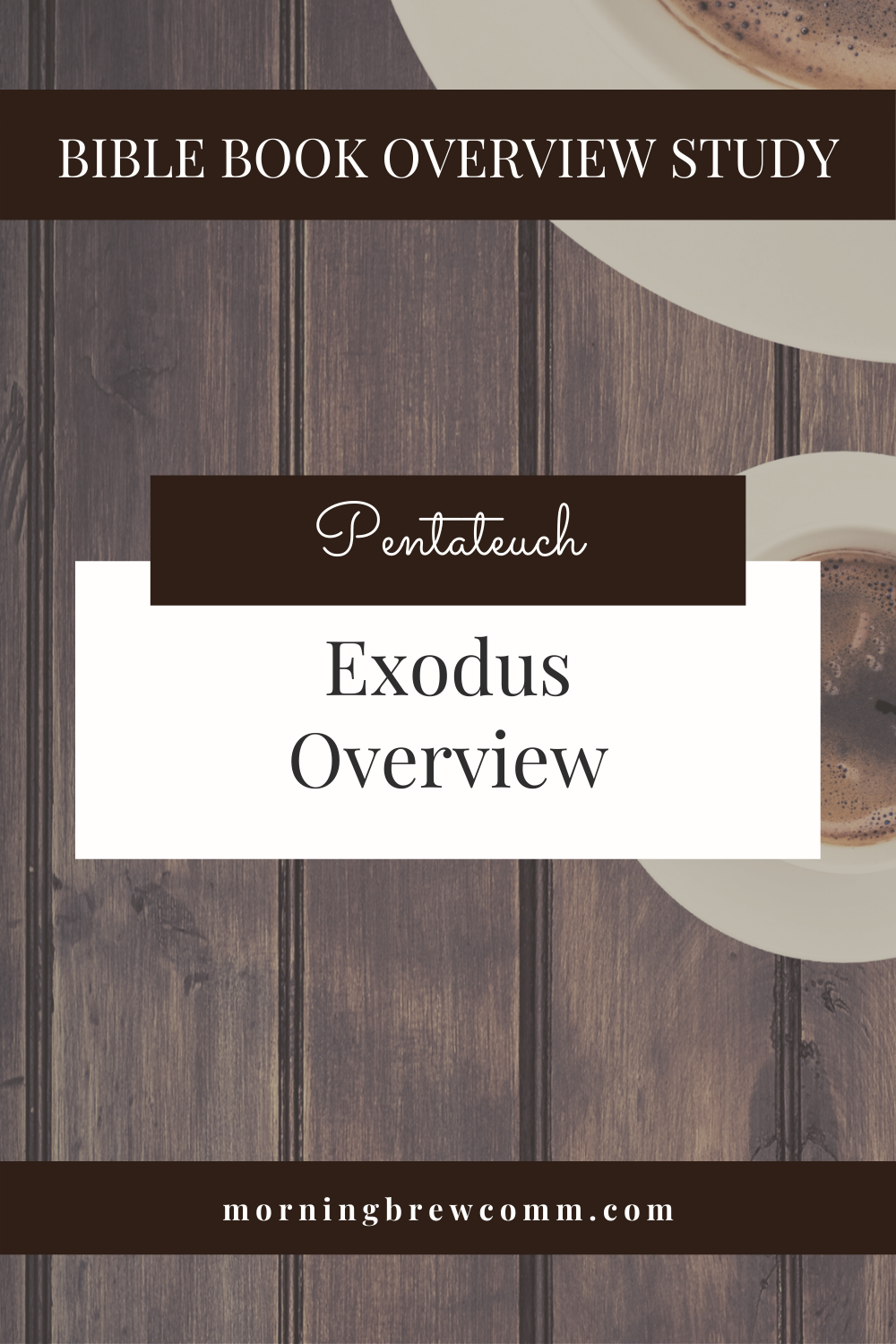 Exodus Pentateuch Bible Book Overview