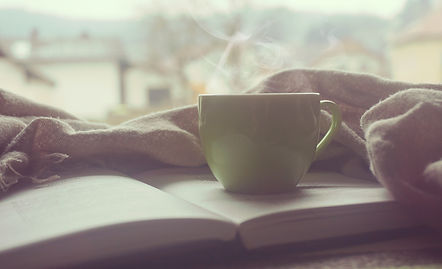 Bible book and coffee cozy.jpg
