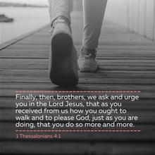 1 Thessalonians 4:1
