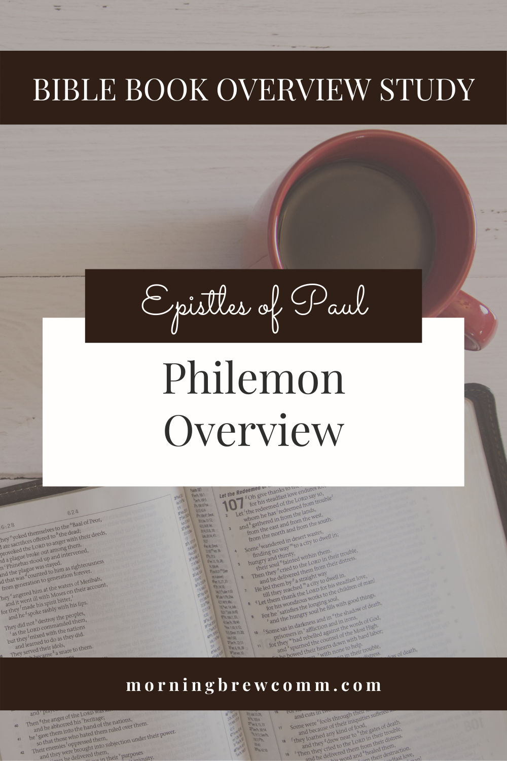 Philemon Epistles of Paul Bible Book Overview
