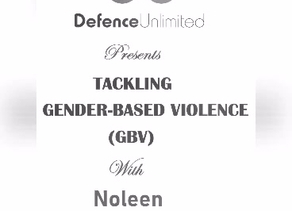Tackling GBV with Noleen Ilunga Muleya