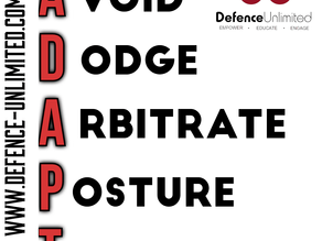 THE ADAPT STRATEGY for Self-Defence