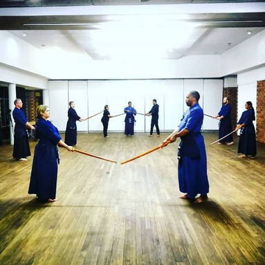 Kendo Kata at the RKC in Johanesburg South Africa