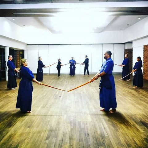 Kendo Kata at the RKC in Johanesburg South Africa