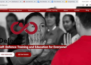 Defence Unlimited's New Revamped Website for Self-Defence Training and Education