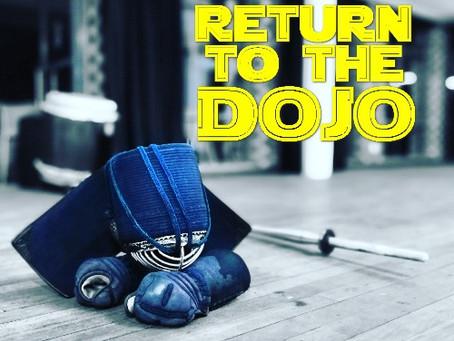 Return to the Dojo on 21 July 2021