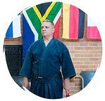 Tony Hughes sensei at Rivonia Kendo Club