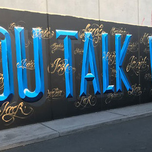 3AW (Radio): Confronting street art painted in Richmond ahead of community rally