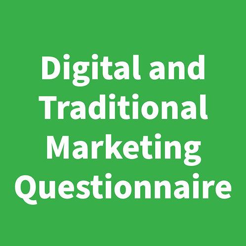 Marketing Questionnaire