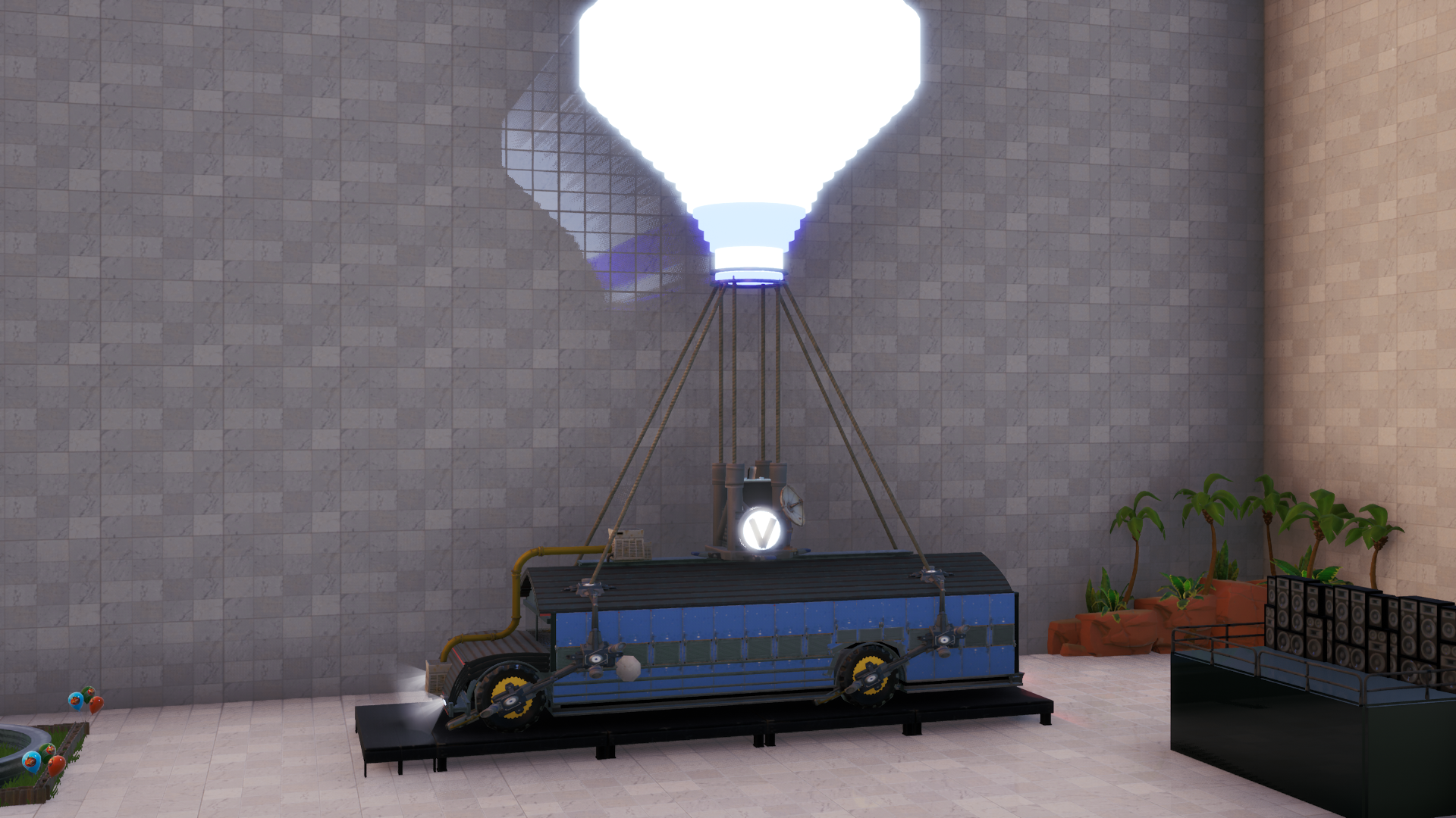 Custom Battle Bus