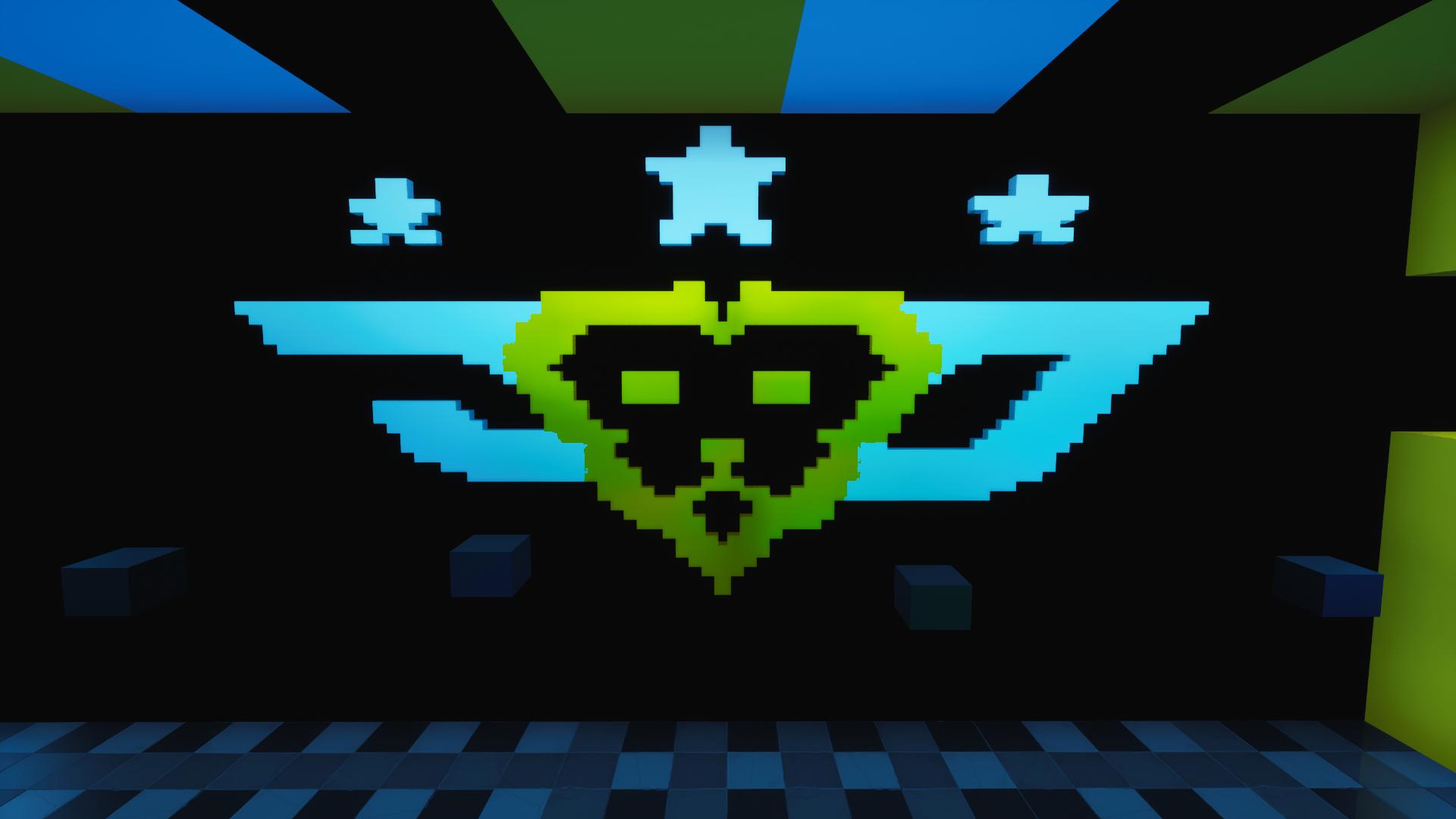 CourageJD Pixel Art Logo