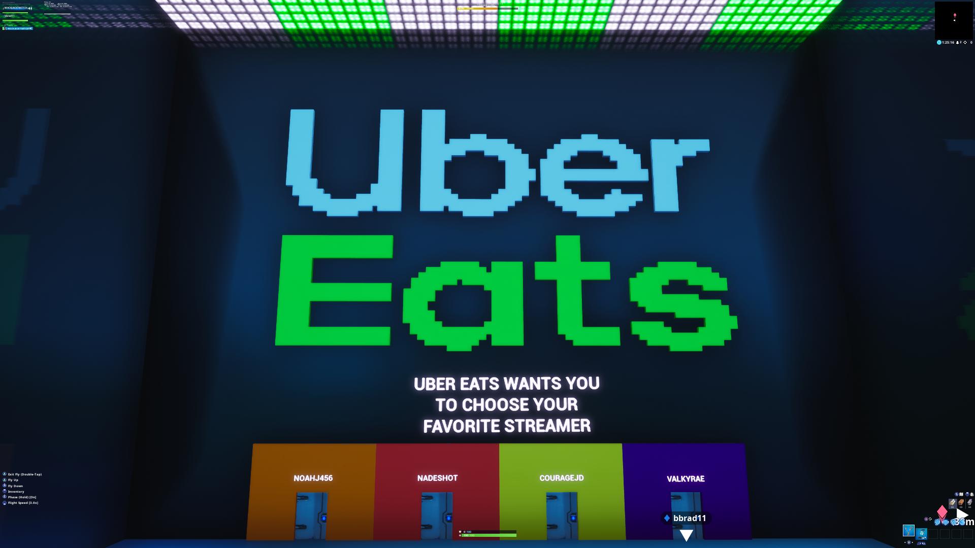Uber Eats Pixel Art Logo