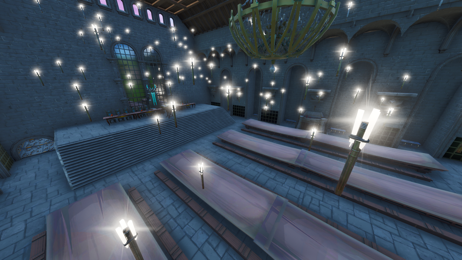 Harry Potter Grand Hall Mock Up