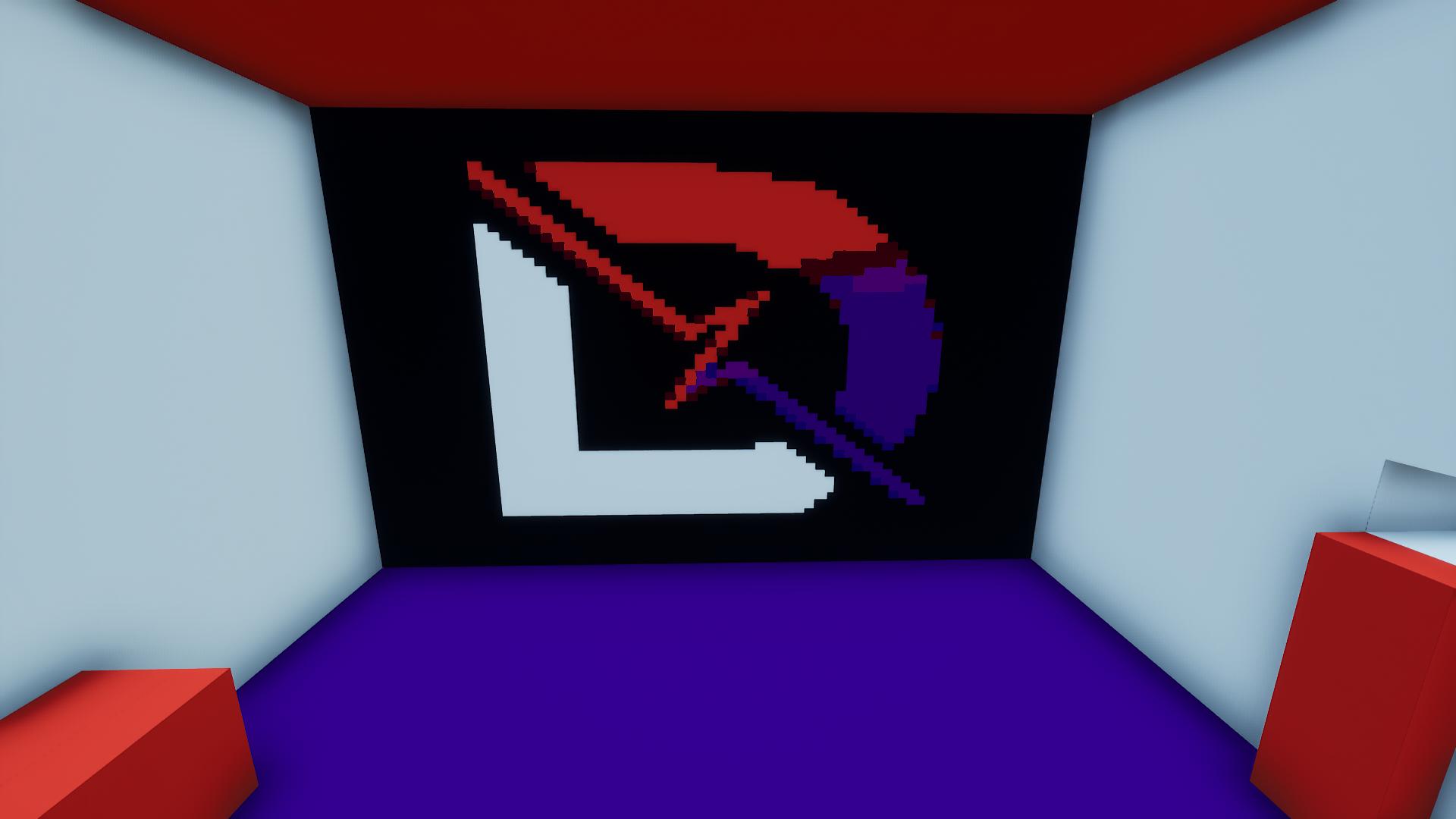 Dr Lupo Pixel Art Logo