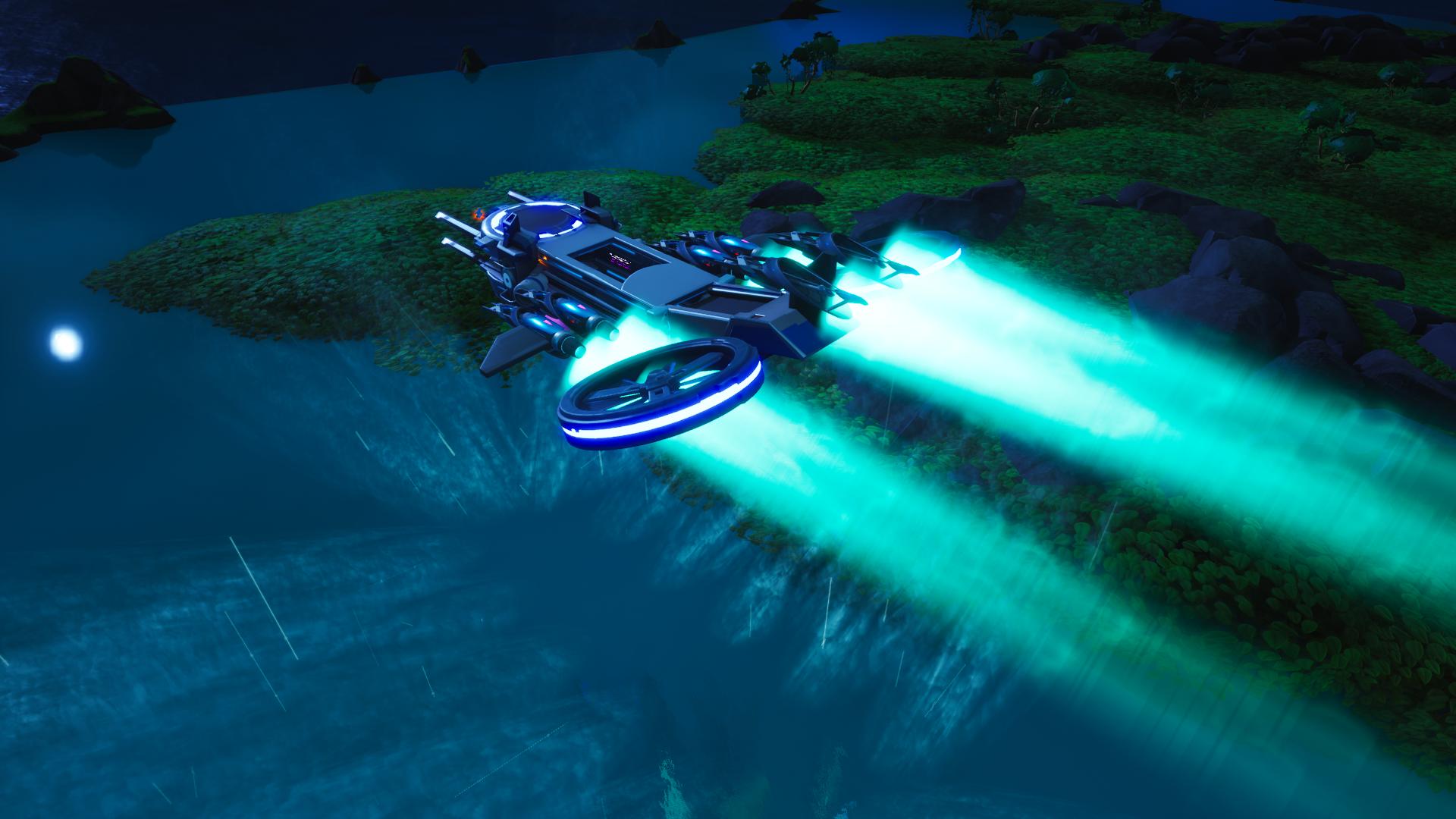 Escape From Nexus Aircraft