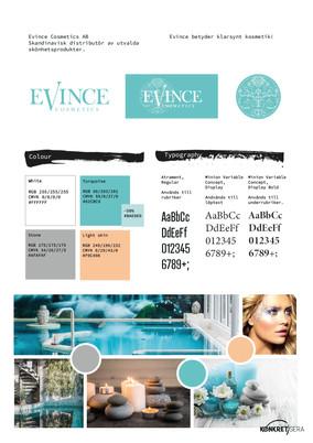 Logo & Grafiskprofil - Evince