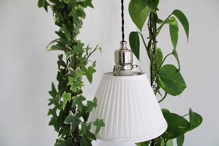 Installation med gröna växter