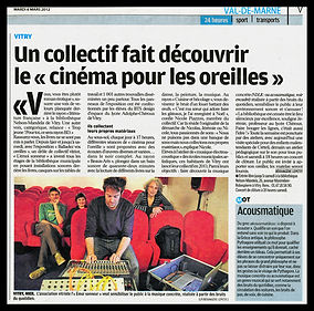 Le Parisien 6-03-2012 Balladez vos oreil
