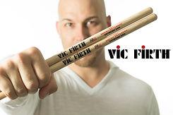 Brynner Agassi Vic Firth Drumsticks